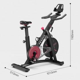 Yesoul S3 Sepeda Statis Spinning Bicycle Exercise Indoor Gym Bike - Black - 13