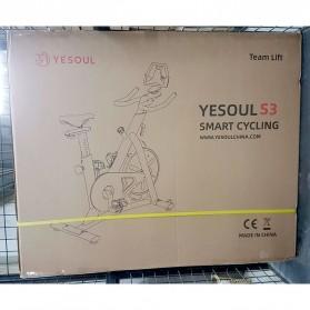 Yesoul S3 Sepeda Statis Spinning Bicycle Exercise Indoor Gym Bike - Black - 14