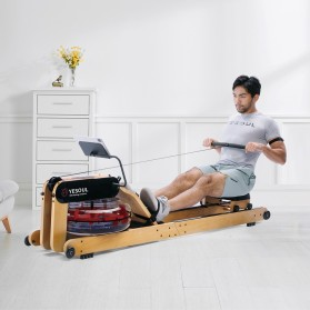 Yesoul R40 Alat Mesin Dayung Smart Hydraulic Water Rowing Machine - 3
