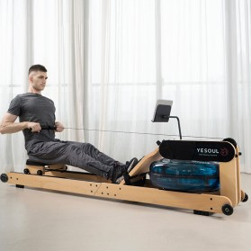 Yesoul R40S Alat Mesin Dayung Foldable Smart Hydraulic Water Rowing Machine - 3