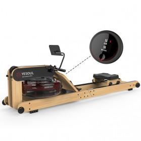 Yesoul R40S Alat Mesin Dayung Foldable Smart Hydraulic Water Rowing Machine - 5