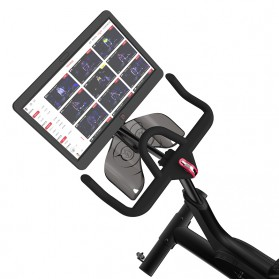 Yesoul V1 Plus Sepeda Statis Spinning Bicycle Exercise Indoor Gym Bike 21.5 Inch Touch Screen - Black - 2