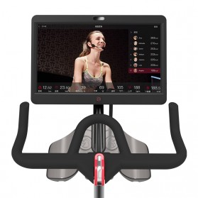 Yesoul V1 Plus Sepeda Statis Spinning Bicycle Exercise Indoor Gym Bike 21.5 Inch Touch Screen - Black - 3