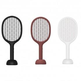 SOLOVE Raket Nyamuk Mini Electric Mosquito Racket Rechargeable 2000mAh - P1 - Black