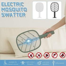 SOLOVE Raket Nyamuk Mini Electric Mosquito Racket Rechargeable - P2 - Green - 1