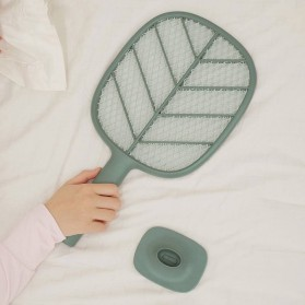 SOLOVE Raket Nyamuk Mini Electric Mosquito Racket Rechargeable - P2 - Green - 6