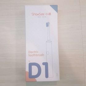 ShowSee Sikat Gigi Sonic Elektrik Toothbrush Rechargeable Waterproof  - D1-W/D1-P - Pink - 10