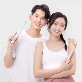 ShowSee Sikat Gigi Sonic Elektrik Toothbrush Rechargeable Waterproof  - D1-W/D1-P - Pink - 5