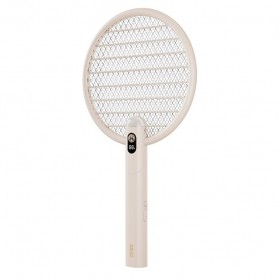 Sothing Raket Nyamuk Electric Mosquito Racket Smart Version - DSHJ-S-2014 - White