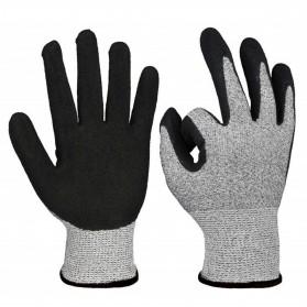 GMG Sarung Tangan Keselamatan Tahan Goresan Pisau Cut Protection Glove - AY2105 - Gray/Black