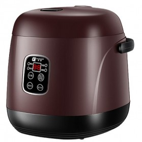 JIASHI Rice Cooker Mini Multifungsi Tipe Smart 1.2L - JSD-888 - Brown