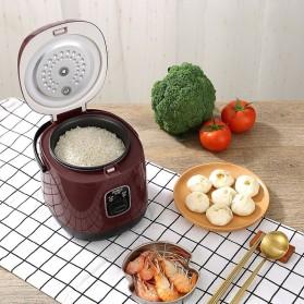 JIASHI Rice Cooker Mini Multifungsi Tipe Standard 1.2L - JSD-887 - Brown