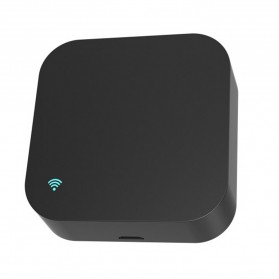 Remote AC / TV Universal - BACO Universal Smart Remote Controller WIFI+IR Humidity Sensors S06Pro - Black