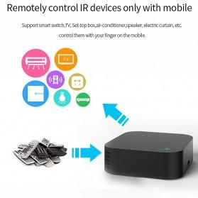 BACO Universal Smart Remote Controller WIFI+IR Humidity Sensors S06Pro - Black - 4