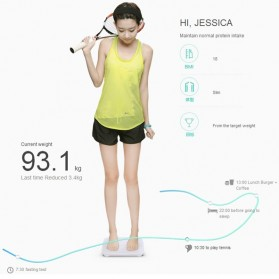 Xiaomi Mi Smart Weight Scale Bluetooth 4.0 LED Display for Android / iOS - White - 6