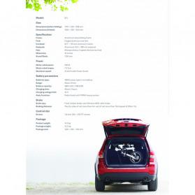 Xiaomi QiCycle EF1 Sepeda Elektrik Lipat Smart Bicycle (EU Version) - Black - 10