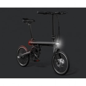 Xiaomi QiCycle EF1 Sepeda Elektrik Lipat Smart Bicycle (EU Version) - Black - 2