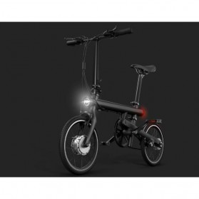 Xiaomi QiCycle EF1 Sepeda Elektrik Lipat Smart Bicycle (EU Version) - Black - 3