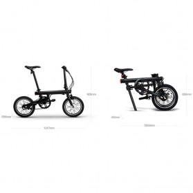 Xiaomi QiCycle EF1 Sepeda Elektrik Lipat Smart Bicycle (EU Version) - Black - 6