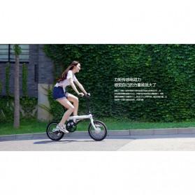 Xiaomi QiCycle EF1 Sepeda Elektrik Lipat Smart Bicycle (EU Version) - Black - 8
