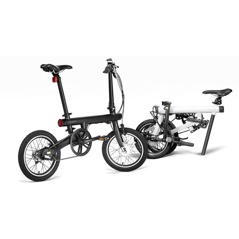 Xiaomi Qicycle Sepeda Elektrik Lipat Smart Bicycle Black
