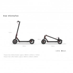 Xiaomi MiJia Smart Electric Scooter - Black - 4