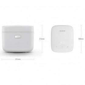 Xiaomi MiJia Smart Pressure Rice Cooker - White - 2