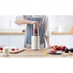 Xiaomi Pinlo Mixer Blender Buah Portable Mini Juicer - YM-B05 - White - 9