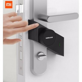 Xiaomi Sherlock M1 Smart Door Lock Home Keyless Fingerprint Kunci Pintu Rumah Left Side - Black
