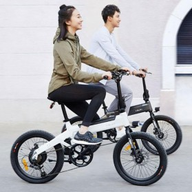 Xiaomi HIMO C20 Sepeda Elektrik Smart Moped Bicycle 250W 80KM - Black - 3