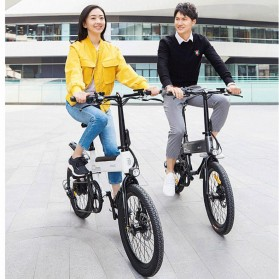 Xiaomi HIMO C20 Sepeda Elektrik Smart Moped Bicycle 250W 80KM - Black - 4