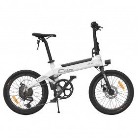 Xiaomi HIMO C20 Sepeda Elektrik Smart Moped Bicycle 250W 80KM - White