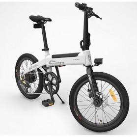 Xiaomi HIMO C20 Sepeda Elektrik Smart Moped Bicycle 250W 80KM - White - 9