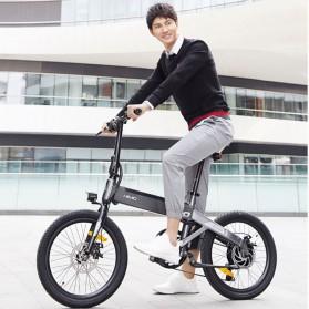 Xiaomi HIMO C20 Sepeda Elektrik Smart Moped Bicycle 250W 80KM - White - 2