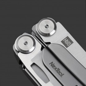Xiaomi Huohou Pisau Multifungsi Folding Knife Pembuka Botol Screwdriver Stainless Steel - HU0040 - Silver - 3