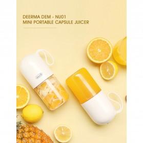 Xiaomi Mijia Deerma Blender Buah Portable Mini Juicer Mixer Capsule - DEM-NU01 - White - 9