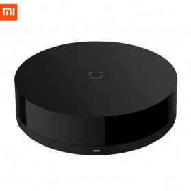 Xiaomi Mijia Universal Smart Remote Controller WIFI+IR Switch 360 Degree - MJYKQ01CM - Black