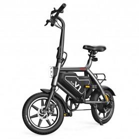 Xiaomi HIMO V1 Plus City Version Sepeda Elektrik Smart Moped Bicycle 250W - Black - 2