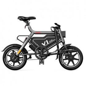 Xiaomi HIMO V1 Plus City Version Sepeda Elektrik Smart Moped Bicycle 250W - Black - 3