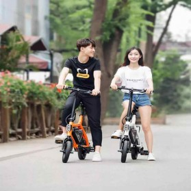 Xiaomi HIMO V1 Plus City Version Sepeda Elektrik Smart Moped Bicycle 250W - Black - 8