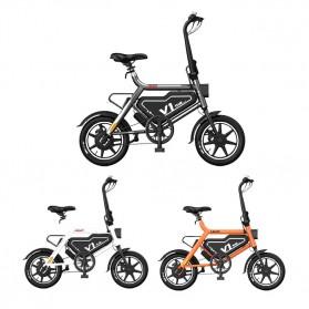 Xiaomi HIMO V1 Plus City Version Sepeda Elektrik Smart Moped Bicycle 250W - White - 5