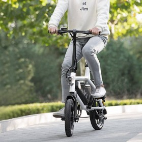 Xiaomi HIMO V1 Plus City Version Sepeda Elektrik Smart Moped Bicycle 250W - White - 6