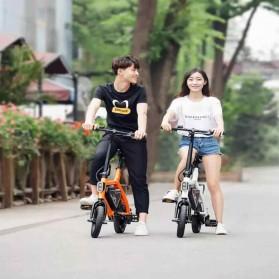 Xiaomi HIMO V1 Plus City Version Sepeda Elektrik Smart Moped Bicycle 250W - White - 8