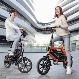 Xiaomi HIMO V1 Plus City Version Sepeda Elektrik Smart Moped Bicycle 250W - White - 9