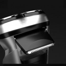 Xiaomi Enchen Blackstone Alat Cukur Jenggot Kumis Electric Portable USB - Black - 4