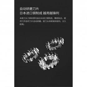 Xiaomi Enchen Blackstone Alat Cukur Jenggot Kumis Electric Portable USB - Black - 8
