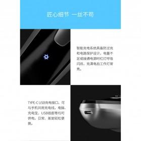 Xiaomi Enchen Blackstone Alat Cukur Jenggot Kumis Electric Portable USB - Black - 9