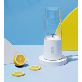 Blender - Xiaomi Mijia Blender Buah Portable Mini Juicer Mixer - White