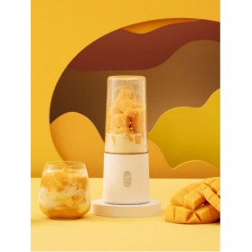 Xiaomi Mijia Blender Buah Portable Mini Juicer Mixer - White - 4