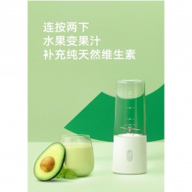 Xiaomi Mijia Blender Buah Portable Mini Juicer Mixer - White - 5